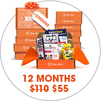 Bulu Box 12 Month Gift Subscription makes a great holiday gift